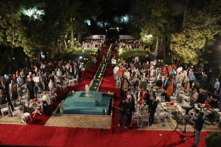 مراسم روز ملی سینما با حضور جمع کثیری از هنرمندان برگزار شد