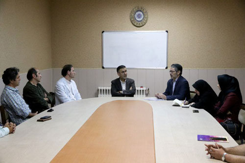 دکتر ایوبی در جمع فیلمسازان استان اردبیل