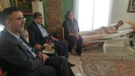 در روز عید قربان؛ وزیر ارشاد و رئیس سازمان سینمایی به دیدن اصغر شاهوردی و خانواده مرحوم رشیدی رفتند