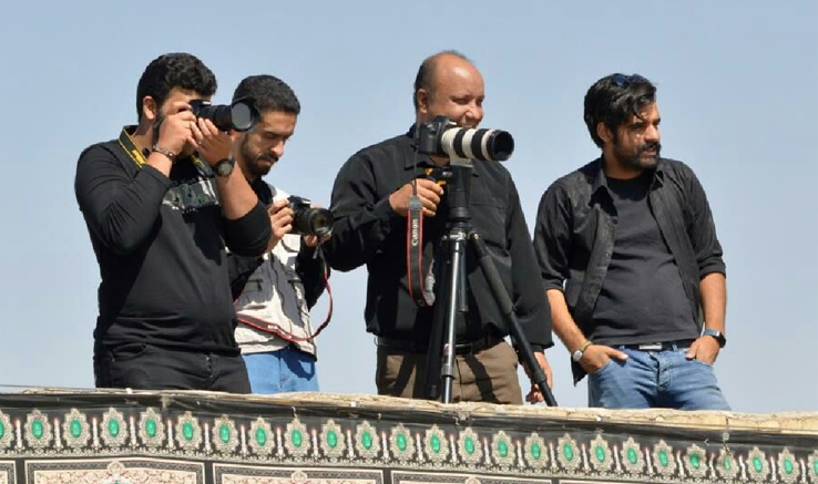 اردو و کارگاه عکس عاشورایی در آباده