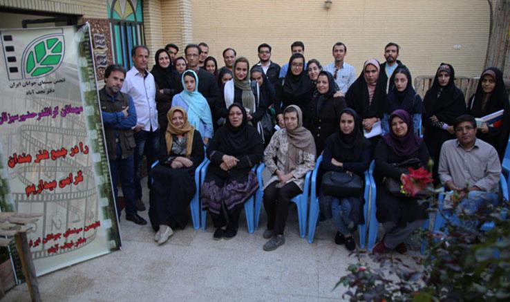 دوره جدید آموزش فیلمسازی۹۵ دفتر نجف آباد
