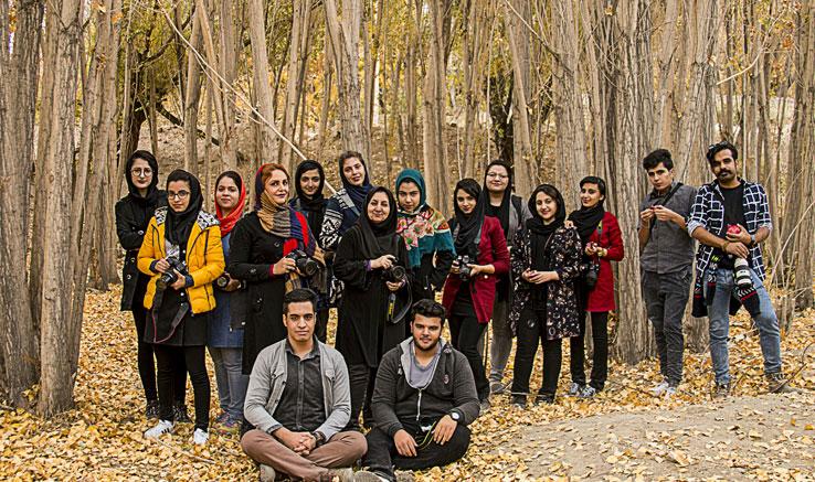 ثبت زیباییهای پاییزی بناوات توسط عکاسان آبادهای