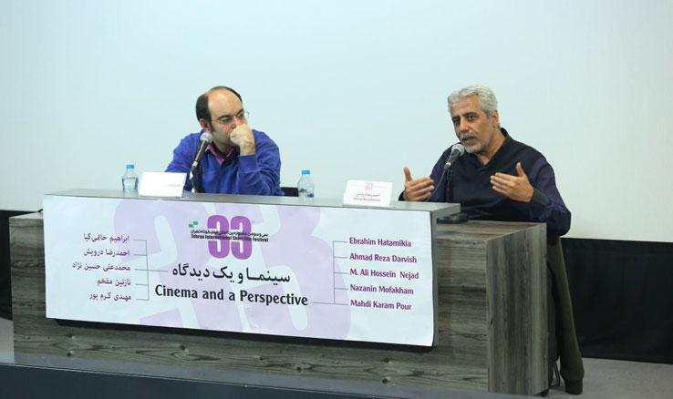 احمدرضا درویش در جشنواره فیلم کوتاه تهران:  معلوم نیست در سینمای ایران چه کسی میآید، چه کسی میرود