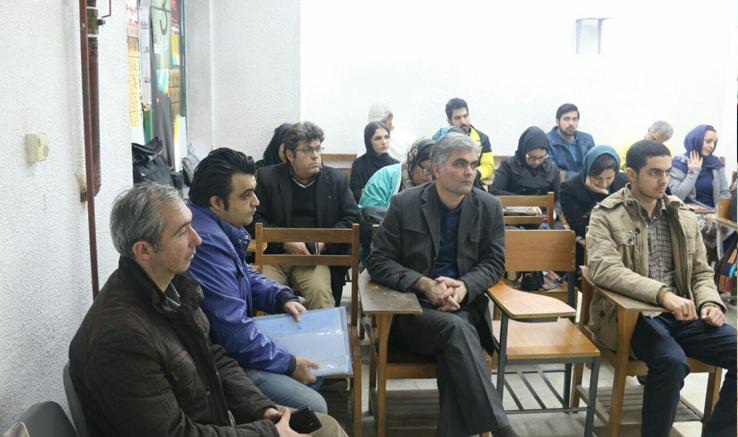 تدریس فلسفه هنر و زیباییشناسی عکس در انجمن رودبار