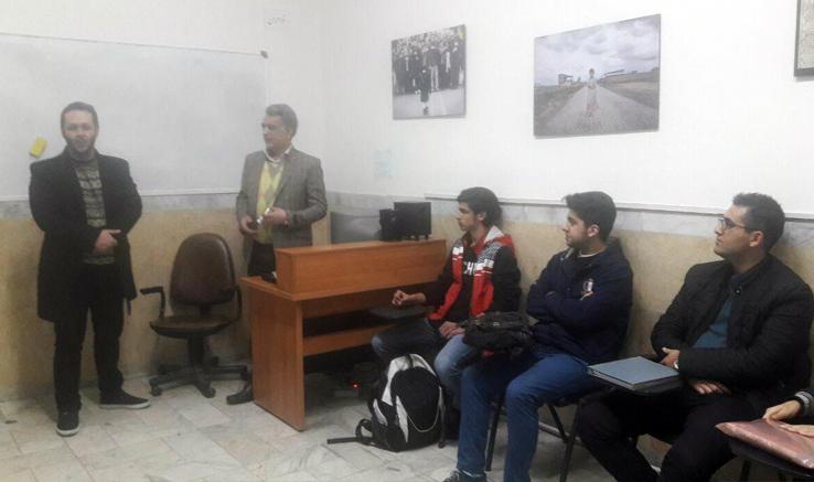 آغاز کلاس آموزش فیلمسازی دفتر قزوین