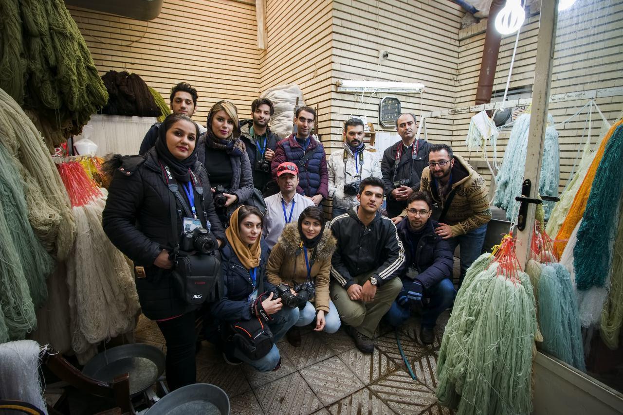 تابلو فرشهای سردرود سوژه عکاسان تبریزی شدند