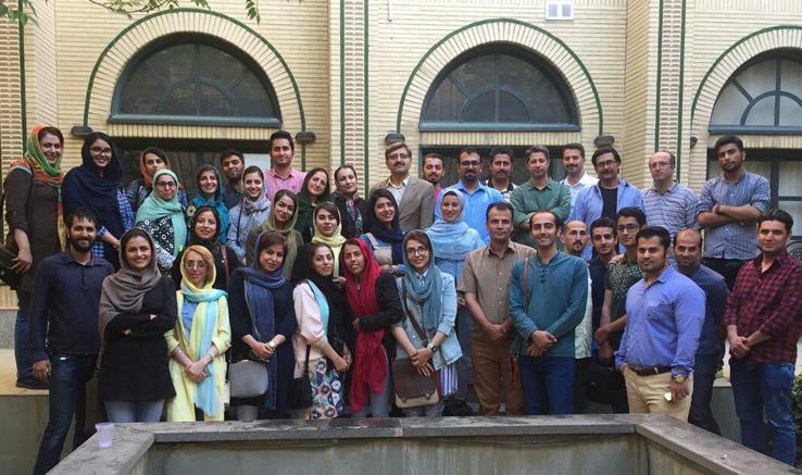 کارگاه سعید عربزاده در کردستان
