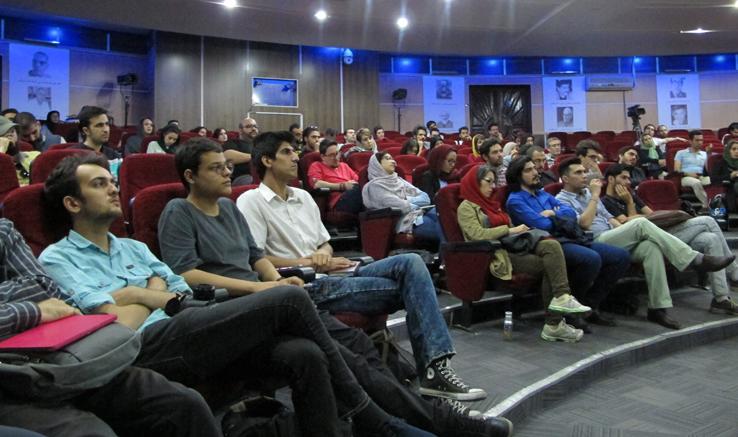 برگزاری کارگاه  زیباییشناسی و ساختار در فیلم کوتاه در دفتر تهران