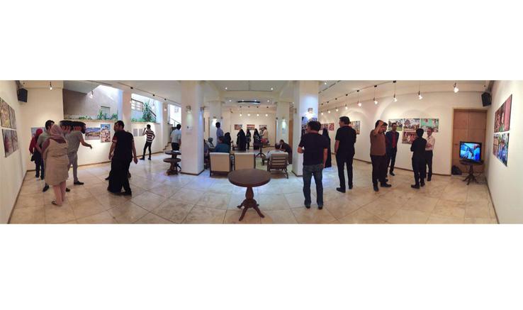 نمایشگاه عکس «همه چیز آنجا بود» در کاشان