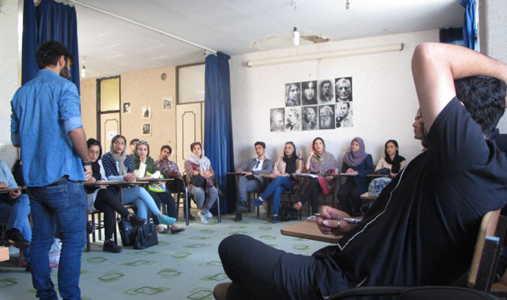 کارگاه فیلم کوتاه ۱۰۰ در دفتر کرج برگزار شد