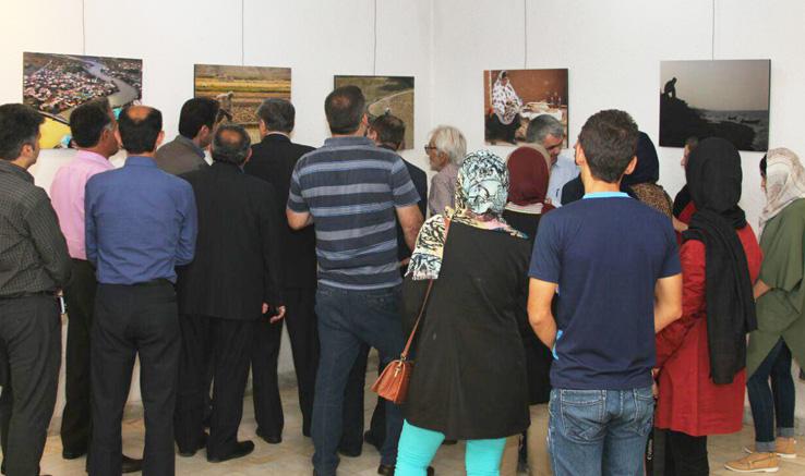 افتتاح نمایشگاه و تقدیر از برترینهای مسابقه عکس در رودبار