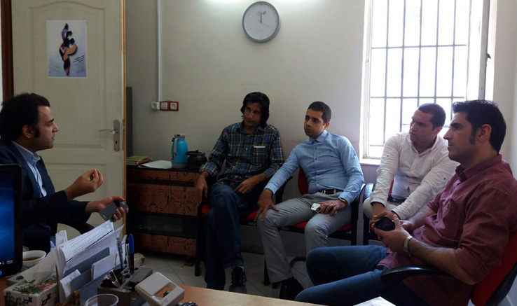 بازدید مشاورمدیرعامل انجمن از دفتربجنورد