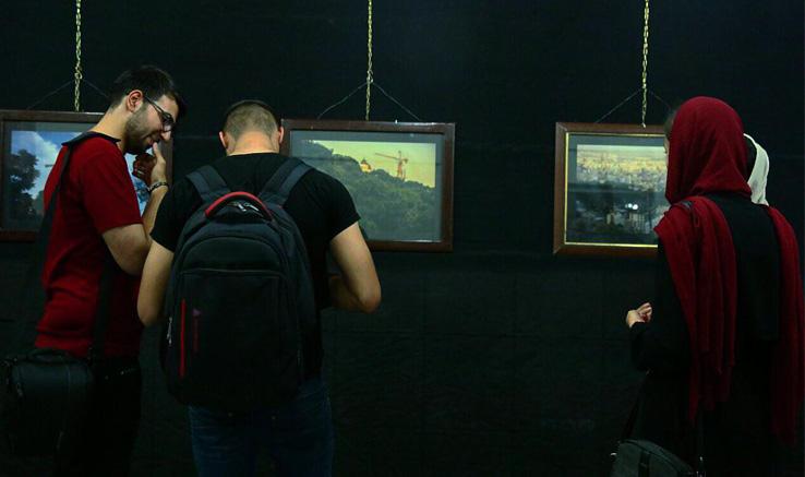 نمایشگاه عکس «انبوه شهرها» در مهاباد