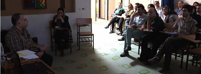 کارگاه آموزشی« ایماژ در سینما » در دفتر کرج برگزارشد