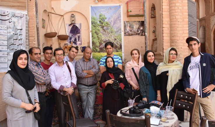 برگزاری کارگاه عکس در آباده