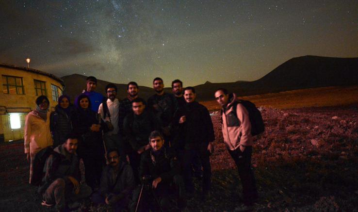 کارگاه عکاسی از آسمان شب در تبریز