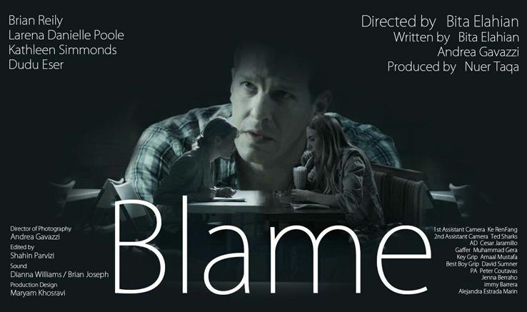 """جایزه افتخاری جشنواره فیلم لُس آنجلس برای فیلم کوتاه """"Blame"""""""