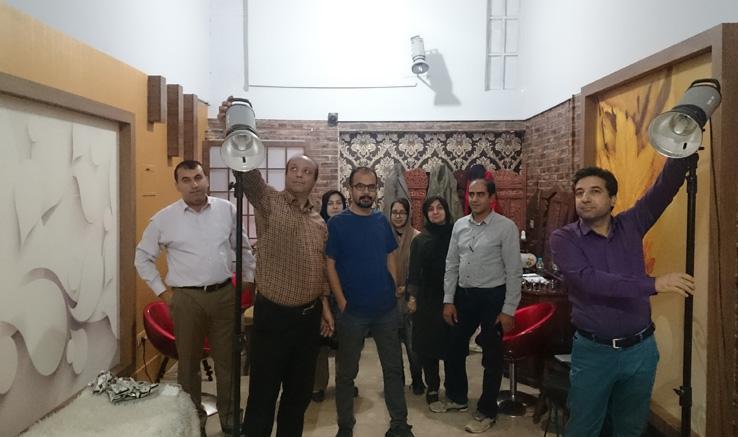 برگزاری کارگاه نورپردازی در آباده