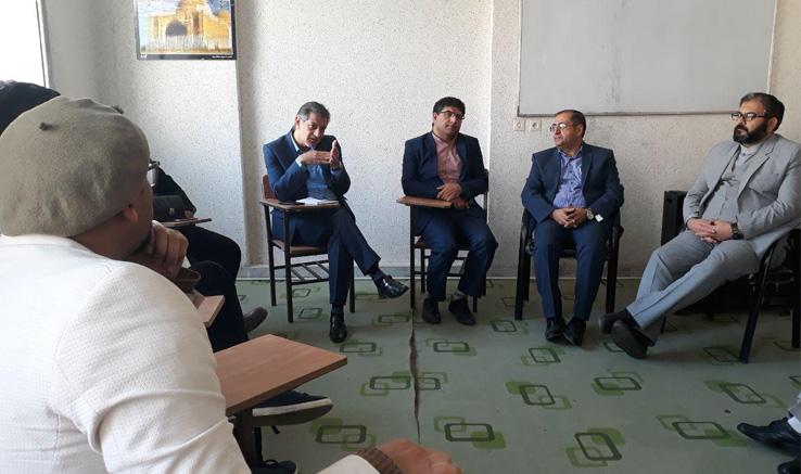 بازدید مدیر کل فرهنگ و ارشاد اسلامی استان البرز از انجمن سینمای جوانان کرج