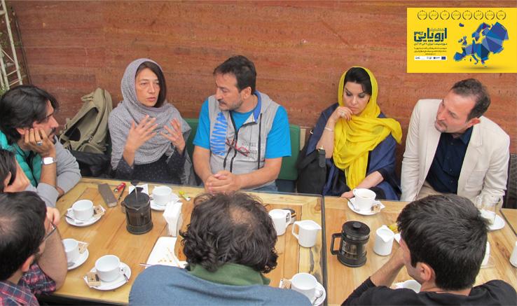 در حاشیه هفته فیلم اروپایی برگزار شد: نشست دوستانه فیلمسازان ایران و یونان