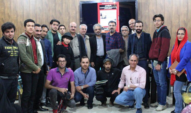حضور ایرج طهماسب در پاتوق فیلم کوتاه انجمن سینمای جوانان بوشهر