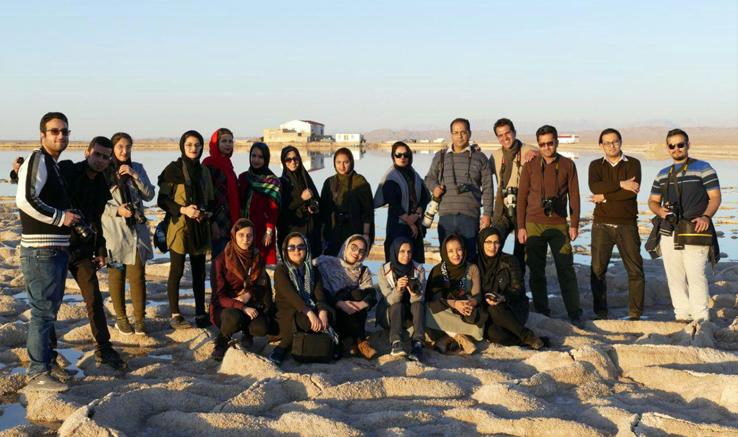 برگزاری اردوی عکاسی در رفسنجان