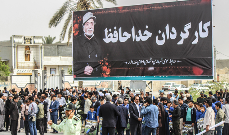 پیکر آفریدگار سریال دلیران تنگستان درخاک تنگستان آرام گرفت/ تصاویر