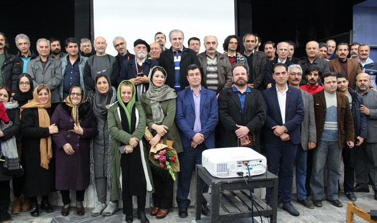 نکوداشت «فرهاد ربیعی» در لاهیجان