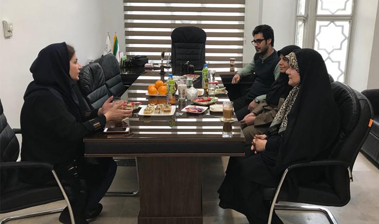 حضور مدیر استانهای انجمن در خراسانرضوی