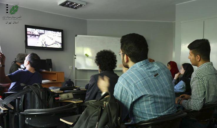 برگزاری پنج دوره آموزشی در انجمن سینمای جوانان ایران- دفتر ویژهی تهران