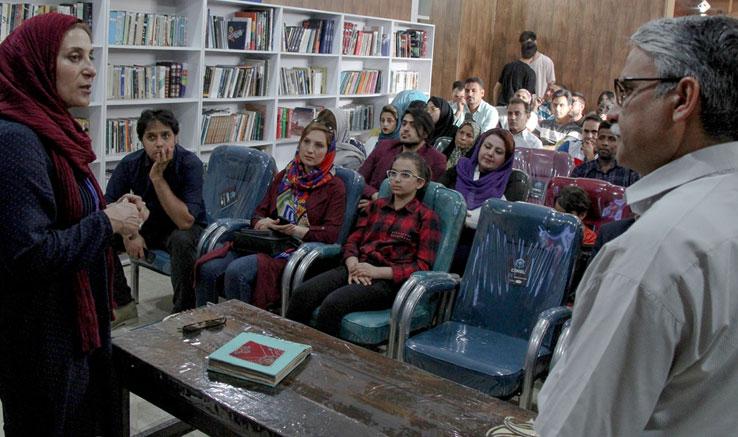 رونمایی از فیلم «شکار» با حضور فاطمه معتمدآریا در بوشهر