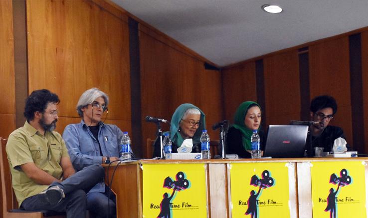 نشست علمی سینما باحضور استاد دانشگاه ساپینزا ایتالیا در شیراز