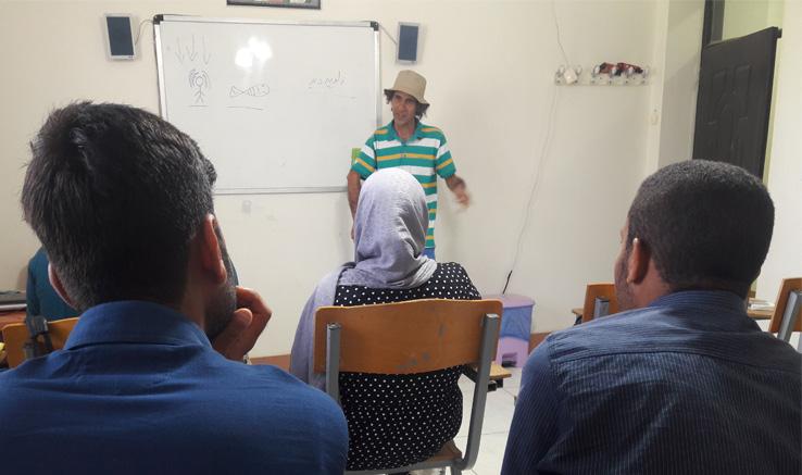 برگزاری کارگاه فیلمنامهنویسی در آبادان