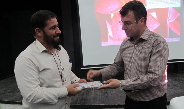 تجلیل از فیلمساز رزمنده در پاتوق فیلم و فیلمنامه لاهیجان