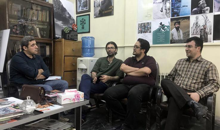 بازدید معاون تولید و پشتیبانی فنی انجمن سینمای جوانان ایران از دفتر لاهیجان