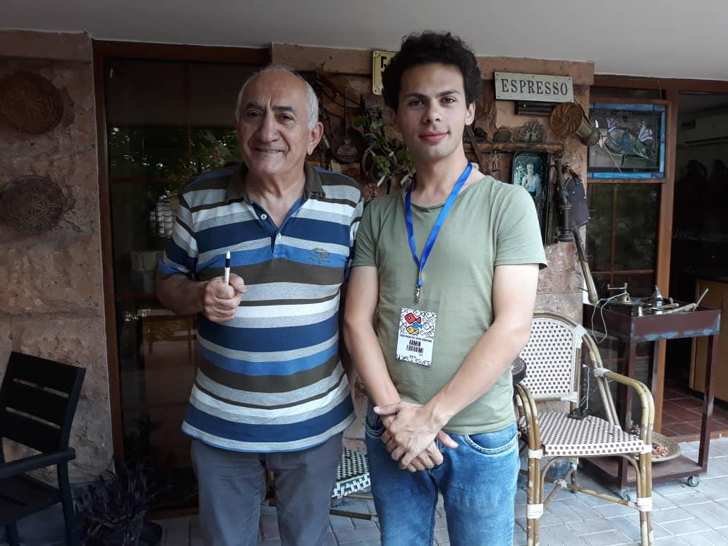 حضور فیلمسازی از بندر انزلی در ارمنستان