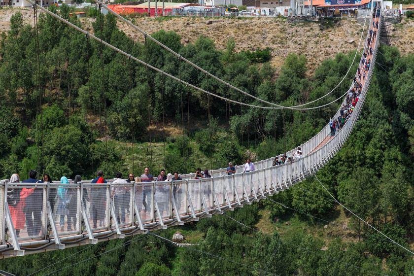به بهانه شصت و یکمین جشنواره منطقهای سینمای جوان- اردبیل- مشگینشهر؛ پل معلق مشگینشهر، اولین پل معلق ایران