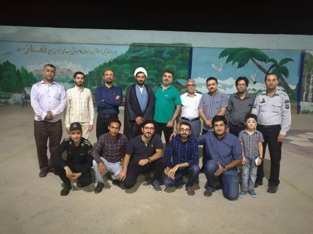 دیدار اعضای انجمن سینمای جوانان بوشهر از کانون اصلاح و تربیت