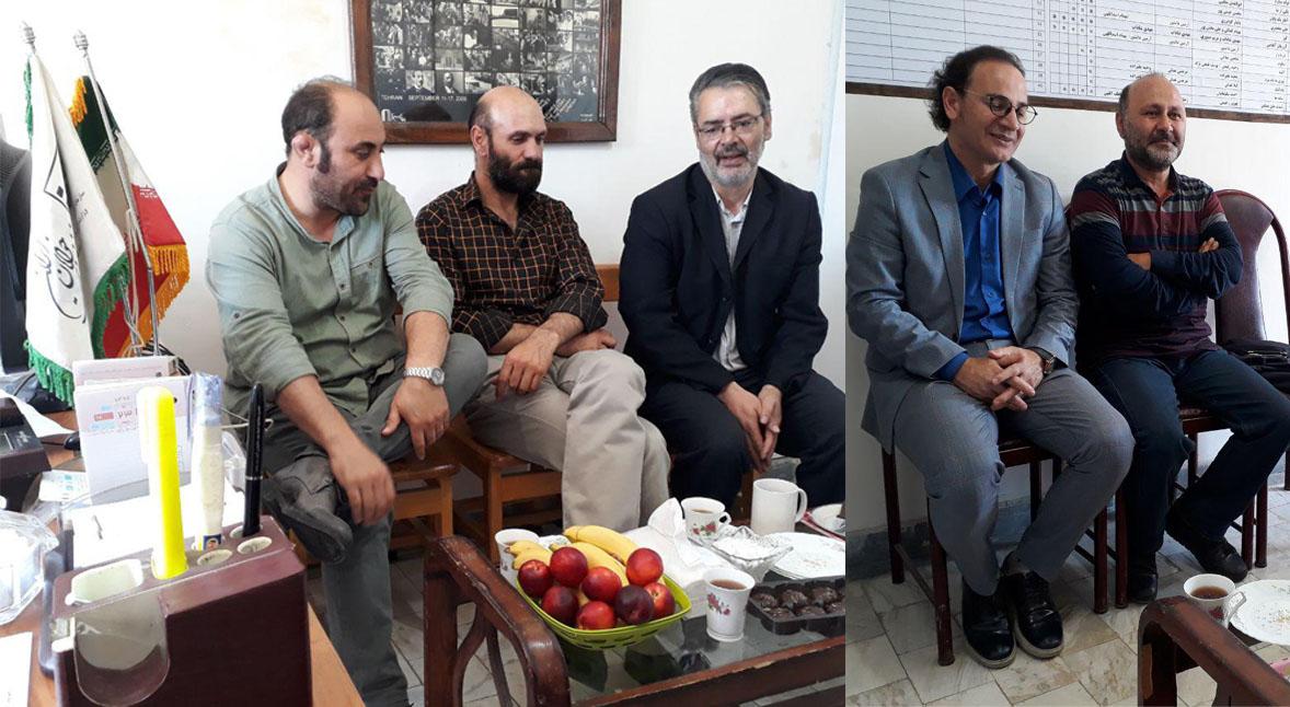 جلسه هماندیشی اساتید و پیشکسوتان انجمن سینمای جوانان استان اردبیل
