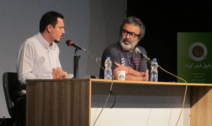 محمد شیروانی در چهل و هفتمین جلسهپاتوق فیلم کوتاه: فیلمسازان ایرانی از فضای خالی نهراسند