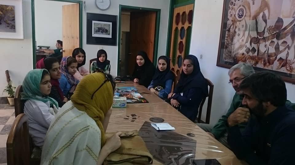 نشست ویژه المپیاد فیلمسازی در دفتر آباده