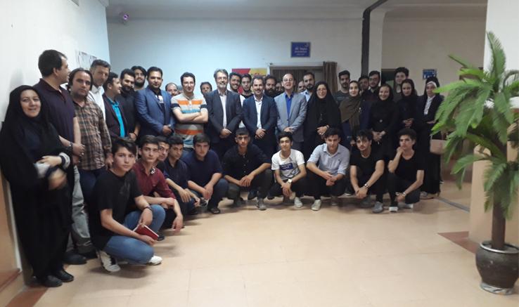 رونمایی از تیزر جشنواره منطقهای سینمای جوان اردبیل، مشگینشهر