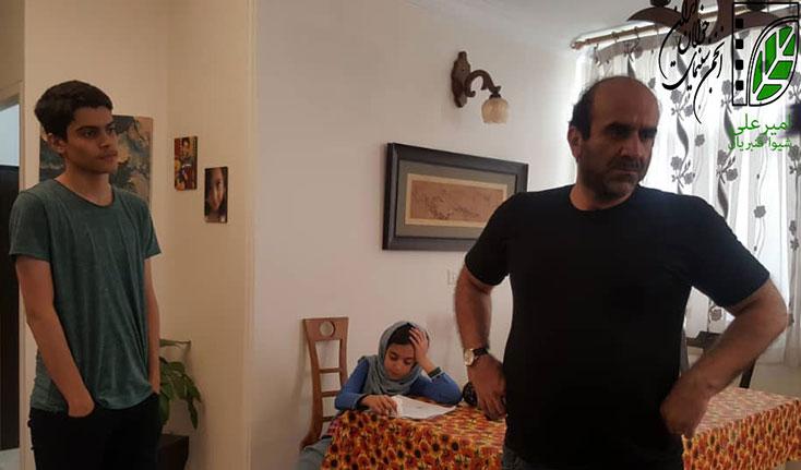 «امیرعلی» در استان فارس روی میز تدوین رفت