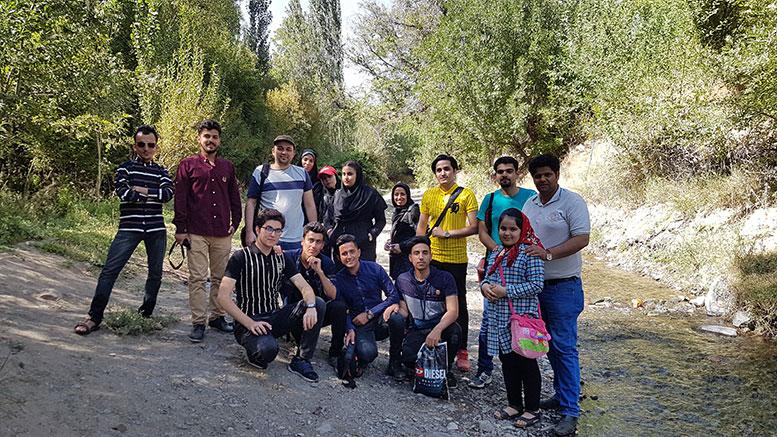 برگزاری اردوی عکاسی در تربتحیدریه