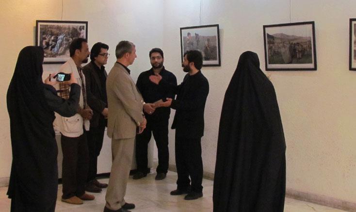 افتتاح نمایشگاه عکس «جلوه پایداری» در رودبار