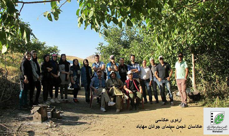 اردوی عکاسان مهابادی در روستاهای اطراف مهاباد