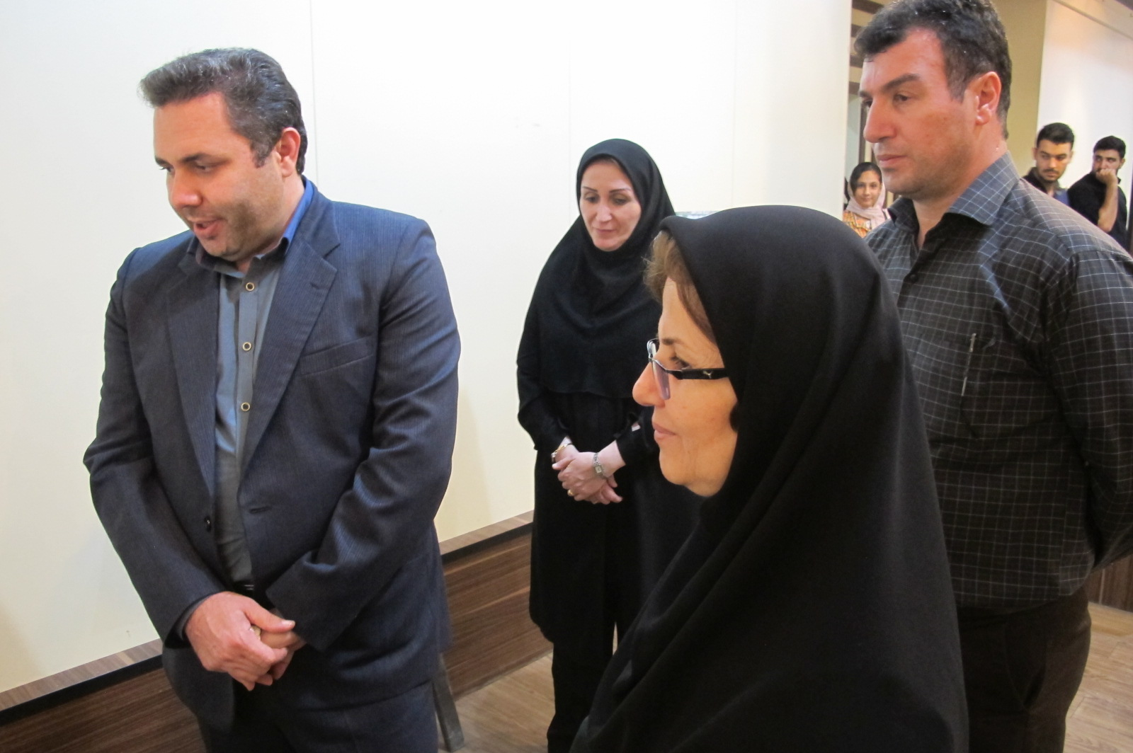 افتتاح نمایشگاه عکس  (کبوترهای آسمانی گیلان) در لاهیجان