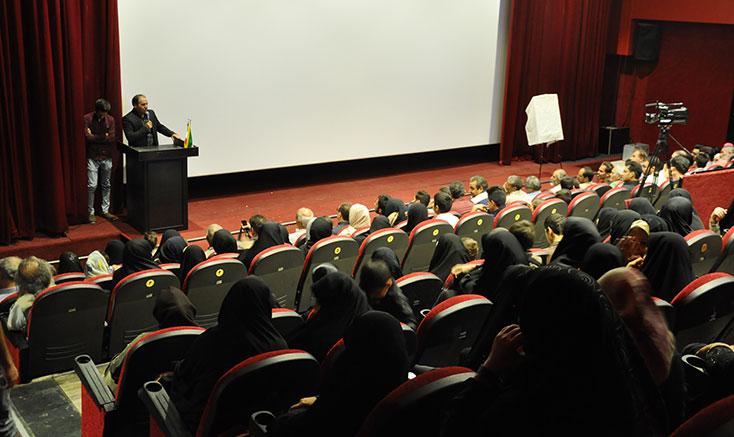 بزرگداشت روز ملی سینما در شهرستان فیروزه