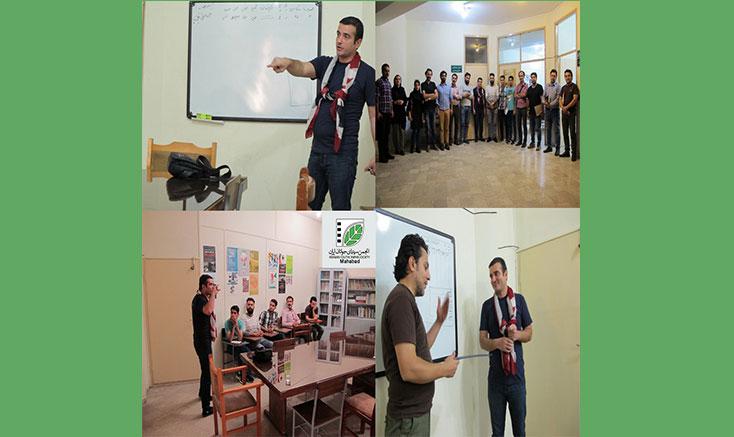 برگزاری کارگاه برنامهریزی فیلم در مهاباد