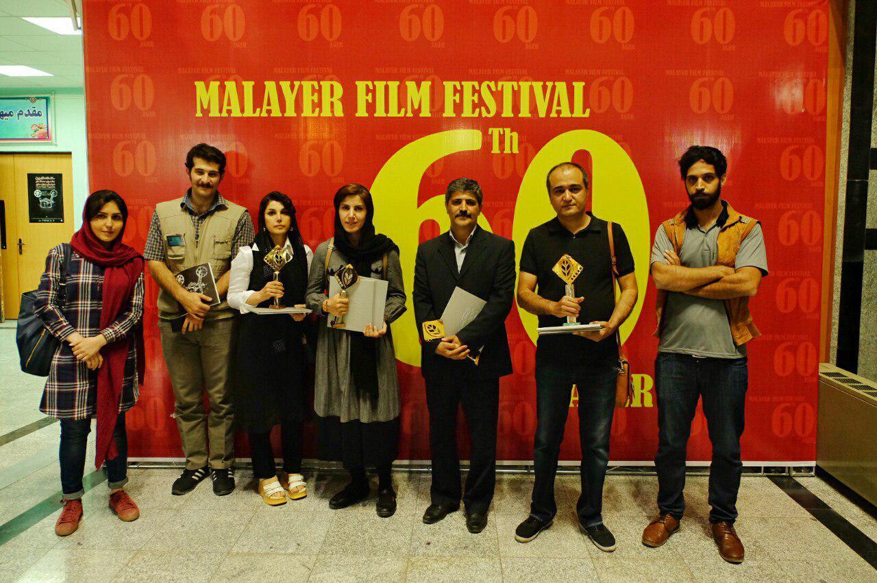 جایزه بزرگ جشنواره و ۵ تندیس رهآورد فیلمسازان همدانی از «آگر»